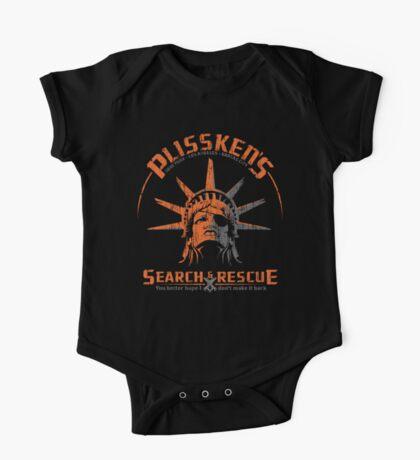 Snake Plissken's  Search & Rescue Pty Ltd One Piece - Short Sleeve