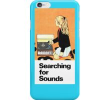 Searching for Sounds 1 iPhone Case/Skin