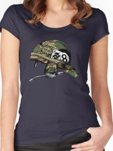 Game Over, Man! Women's Fitted Scoop T-Shirt