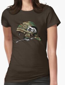 Game Over, Man! Womens Fitted T-Shirt