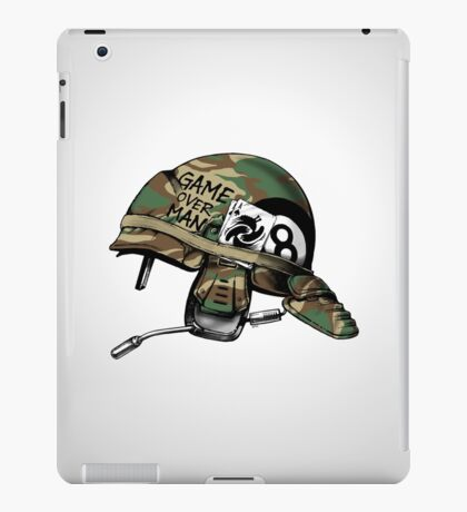 Game Over Man Aliens Born to Kill iPad Case/Skin