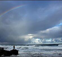 rainbow fishing by Greg Parfitt