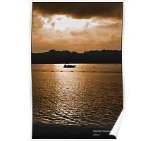 Mauritius sunset Poster