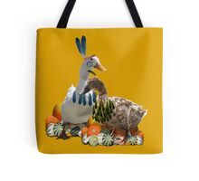 Thanksgiving Indian Geese Tote Bag