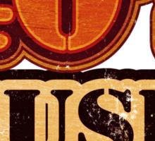 40's Music Vintage T-Shirt Sticker