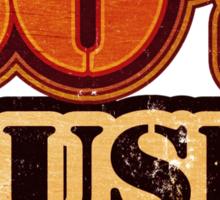 50's Music Vintage T-Shirt Sticker