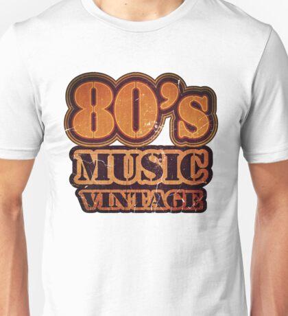 80's Music Vintage T-Shirt Unisex T-Shirt