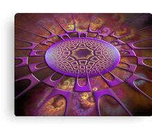 Point Of Attraction Canvas Print