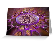 Point Of Attraction Greeting Card