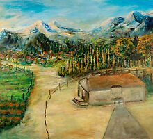 Mountain Villages by Sher Nasser