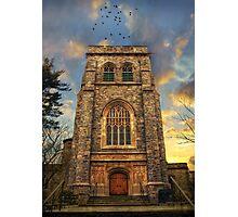 Sunset Gothic Photographic Print