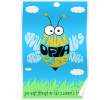 Think of a bee... Poster