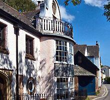 Leafy Side Street ~ Topsham, Devon by Susie Peek
