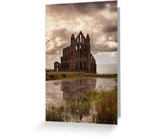 Reflections of Whitby Greeting Card