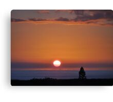 Kilauea Sunset Canvas Print