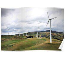 Te Apiti Wind Farm Poster