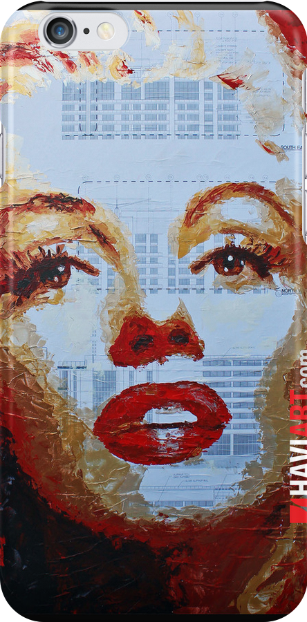 Marilyn - Blue Print by HAVI Art