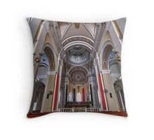 Puerto Rico Church Throw Pillow