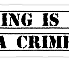 Gaming Is Not A Crime Sticker