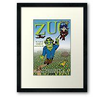 ZUG MOVIE POSTER! Framed Print