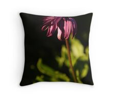 Withered beauty Throw Pillow
