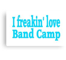 Band Camp Canvas Print