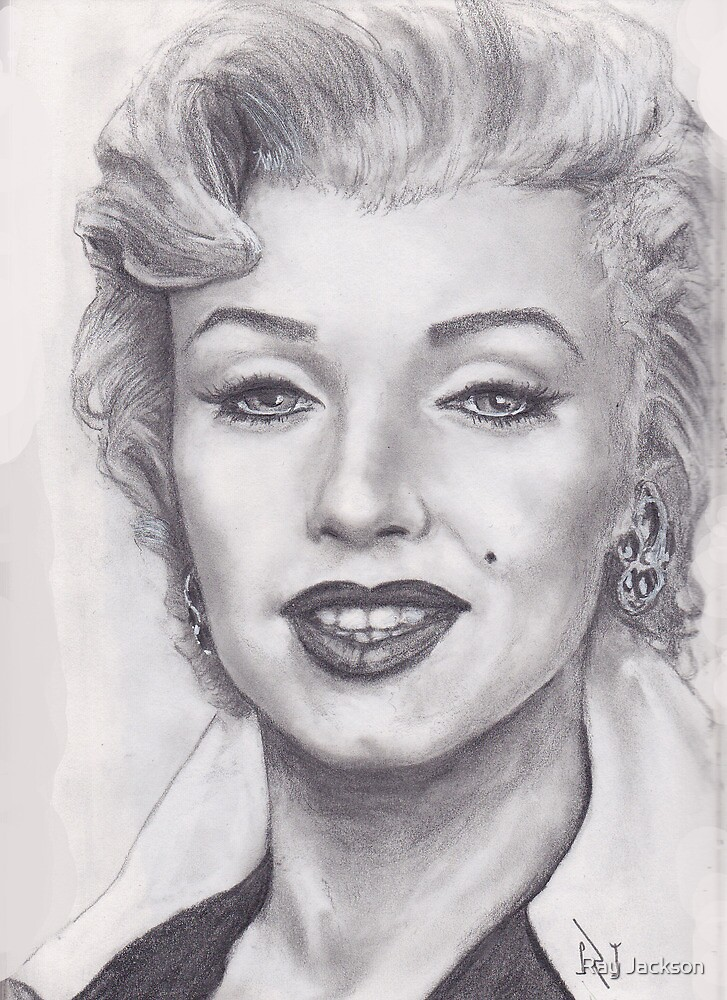 THE BLOND BOMBSHELL MARILYN MONROE !  by Ray Jackson