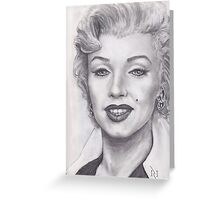 THE BLOND BOMBSHELL MARILYN MONROE !  Greeting Card