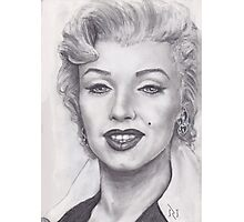 THE BLOND BOMBSHELL MARILYN MONROE !  Photographic Print