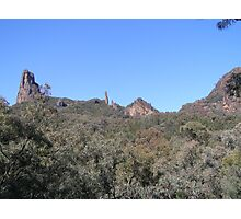 A closer look at our goal, 'The High Tops, Warrumbungle N.P. N.S.W. Photographic Print