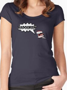Hadouken 2 Women's Fitted Scoop T-Shirt