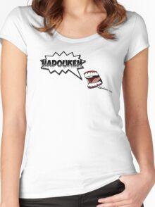 Hadouken 2 Women's Fitted Scoop T-Shirt