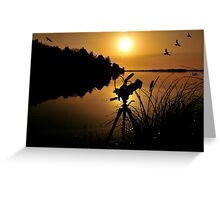 WILDLIFE PHOTOGRAPHER... Greeting Card