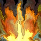 bonfire -- abstract series by designsalive
