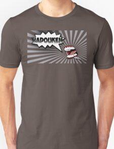 Hadouken grey scream Unisex T-Shirt