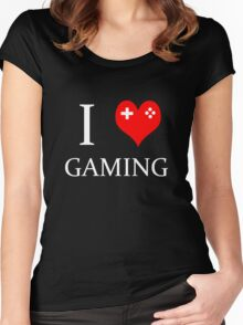 I Heart Gaming Women's Fitted Scoop T-Shirt