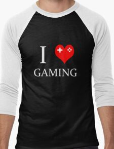 I Heart Gaming Men's Baseball ¾ T-Shirt