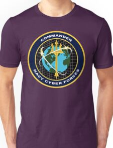 NAVY Cyber Forces Unisex T-Shirt