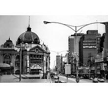 Flinders & Swanston Streets Photographic Print