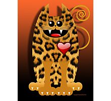 LOVELY LEOPARD (card) Photographic Print