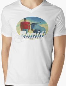 Bemidji  Mens V-Neck T-Shirt