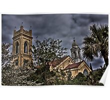 Churches in Charleston, SC Poster