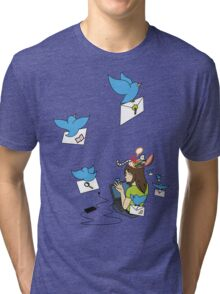 Send Your Tweets away! Tri-blend T-Shirt