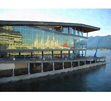 The Vancouver Convention Centre Photographic Print