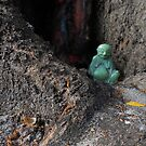 LITTLE JADE BUDDHA by Ginny Schmidt