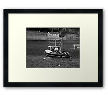 Fishing Boat ... Framed Print