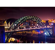 Tyne Bridge Tyneside Photographic Print