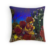 """""""Dried Stems""""© Throw Pillow"""
