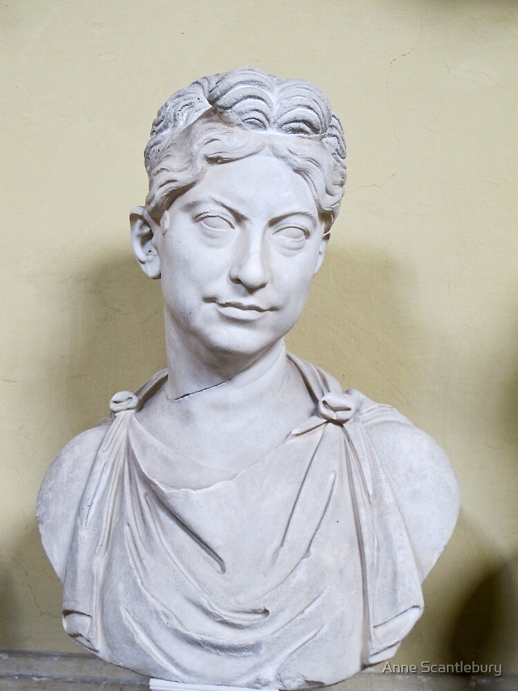 bust of woman by Anne Scantlebury