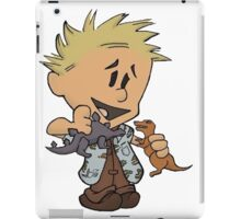 Calvin Hobbes Curse Your Sudden iPad Case/Skin